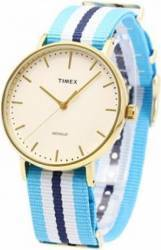 Ceas Unisex Timex Weekender TW2P91000 Blue-Gold Ceasuri Unisex and Copii