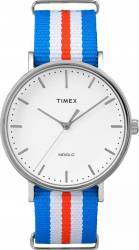 Ceas Unisex Timex Weekender TW2P91100 Blue-Silver Ceasuri Unisex & Copii