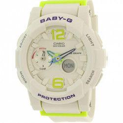 61d43349453d Ceas Casio dama Baby-G BGA180-7B2 alb Rubber Quartz Ceasuri de dama