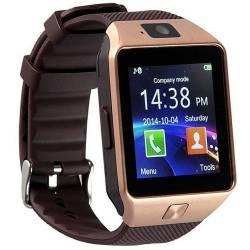 Ceas Smartwatch iUni DZ09 Plus Telefon incorporat BT Camera 1.3MP 1.54 Inch Auriu Smartwatch