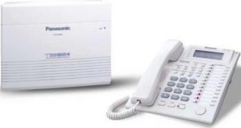 Centrala Telefonica Panasonic KX-TES824CE 6 linii ext +KX-T7730 Centrale telefonice analogice