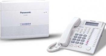 Centrala Telefonica Panasonic KX-TES824CE 6 linii ext + 2 x KX-T7730