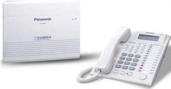 Centrala Telefonica Panasonic KX-TES824CE 3 linii ext +KX-T7730 Centrale telefonice analogice