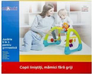 Centru de activitati Momki, Bufnita si Prietenii Ei, Verde-Albastru Balansoare, premergatoare, centre activi