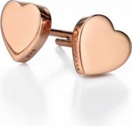 Cercei Fiorelli Silver Collection Heart Rose Cercei