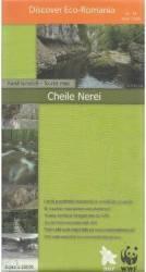 Cheile Nerei - Harta turistica