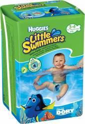 Chilotei/Scutece pentru apa Huggies Little Swimmers marimea 3-4, 7-15 kg, 12 buc Scutece si servetele