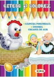 Citesc si colorez Gainusa Porumbaca