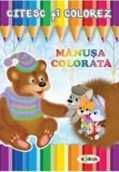 Citesc si colorez Manusa colorata
