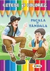 Citesc si colorez Pacala si Tandala Carti