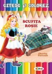Citesc si colorez Scufita Rosie