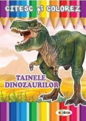 Citesc si colorez Tainele dinozaurilor