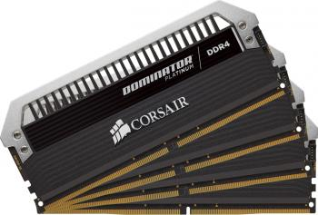 Memorie Corsair Dominator Platinum 16GB Kit 4x4GB DDR4 2666MHz CL15 memorii