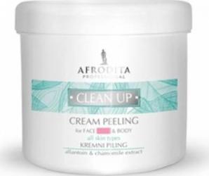 Exfoliant Cosmetica Afrodita Clean Up Peeling Facial si Corporal 450ml Masti, exfoliant, tonice