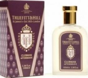 Clubman by Truefitt and Hill Barbati 100ml Gel de Ras si Aftershave