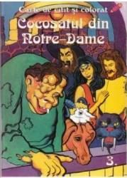 Cocosatul din Notre-Dame - Carte de colorat