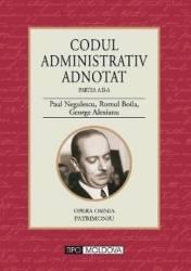 Codul administrativ adnotat Partea a II-a - Paul Negulescu Romul Boila George Alexianu