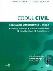 Codul civil Ianuarie 2018 - Dan Lupascu