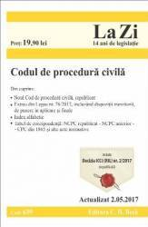 Codul de procedura civila act. 2.05.2017