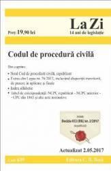 Codul De Procedura Civila Act. 2.05.2017