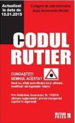 Codul Rutier Act. 15.01.2015