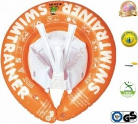 Colac copii SWIMTRAINER Classic Portocaliu 2-6 ani Jucarii de exterior