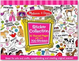 Colectia de abtibilduri Melissa and Doug Roz Jucarii