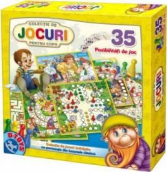 Colectie de 35 jocuri BASME Multicolor Jucarii Interactive