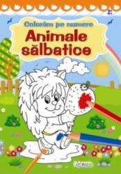Coloram pe numere Animale salbatice