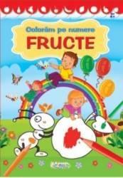 Coloram pe numere Fructe