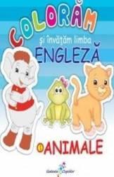 Coloram si invatam limba engleza Vol.1 Animale Carti