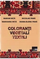 Coloranti vegetali textili - Marian Nita Nicolae Pana