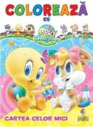 Coloreaza cu Baby Looney Tunes Cartea celor mici Carti