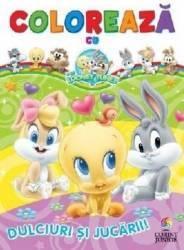 Coloreaza cu Baby Looney Tunes Dulciuri si jucarii Carti