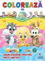 Coloreaza cu Baby Looney Tunes Mari desene pentru micii artisti Carti