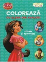 Coloreaza cu Elena din Avalor Jocuri si activitati Carti