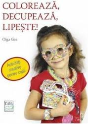 Coloreaza decupeaza lipeste - Olga Gre