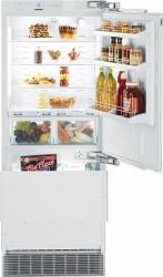 Combina frigorifica incorporabila Liebherr ECBN 5066 379L Premium BioFresh NoFrost clasa A++ Alb Frigidere Combine Frigorifice