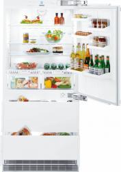 Combina frigorifica incorporabila Liebherr Premium ECBN 6156 Clasa A+ 480L BioFresh Congelator NoFrost IceMaker Latime 9 Frigidere Combine Frigorifice