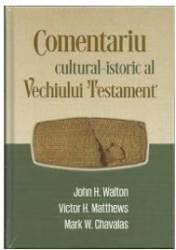 Comentariu Cultural-istoric L Vechiului Testament