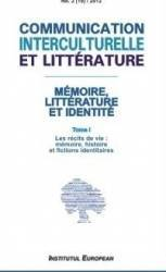 Communication interculturelle et litterature no.12012