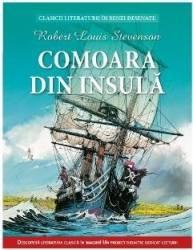 Comoara din insula benzi desenate - Robert Louis Stevenson