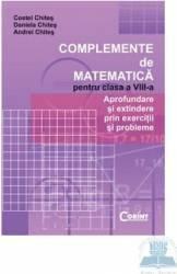 Complemente de matematica cls 8 - Costel Chites Daniela Chites