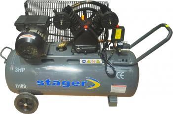 Compresor de aer Stager HM V 0.25 100L Compresoare