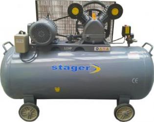 Compresor de aer Stager HM V 0.6 370L