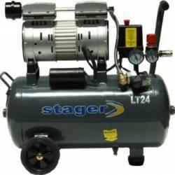 Compresor electric silentios Stager HM24JW 24L Compresoare