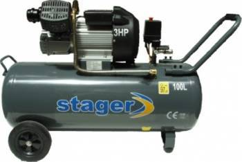 Compresor electric Stager HM3100V 100L Compresoare