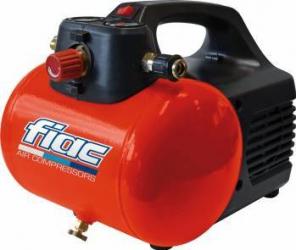 Compresor Hobby 6 Fiac 6l cu manometru debit aer 33l 6.8bar 4600 rpm Compresoare