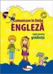 Comunicare In Limba Engleza Caiet Gradinita - Cristina Johnson Daniel Oinita