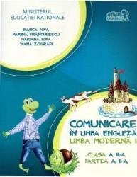 Comunicare in limba engleza clasa 2 Partea II limba moderna 1 + Cd - Bianca Popa Marina Franculescu